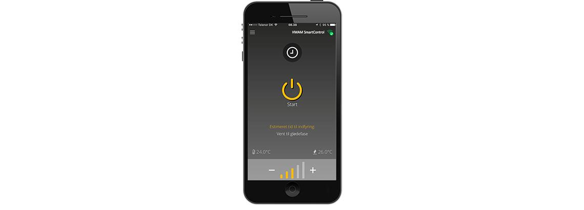SmartControl til HWAM brændeovne