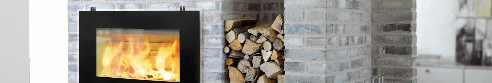 brændeovne og pejse til byggeri - inspiration